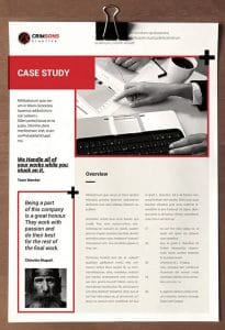 دراسة الحالة والإحصائيات