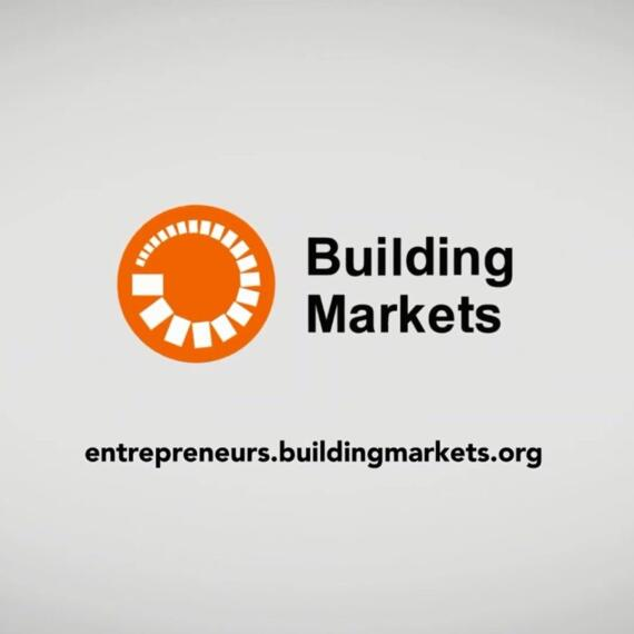 تصوير ومونتاج لصالح Building Markets